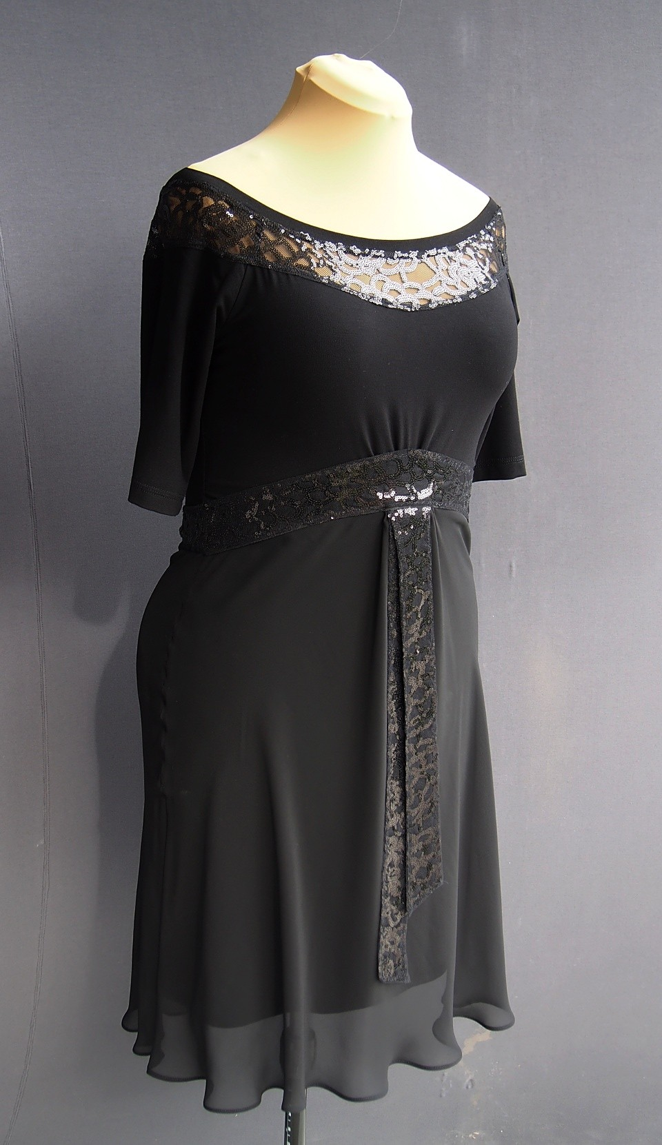 ta-0364 black tango dress